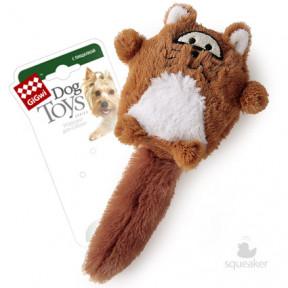 Игрушка для собак GiGwi Dog Toys Лиса с большой пищалкой (75220) 9 см