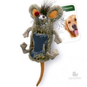 Игрушка для собак GiGwi Dog Toys Мышь с большой пищалкой (75288) 33 см