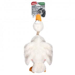 Игрушка для собак GiGwi Dog Toys Утка с 2-мя пищалками (75037) 36 см