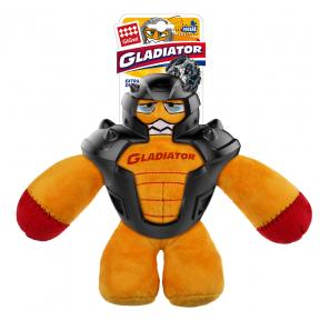 Игрушка для собак GiGwi Gladiator Гладиатор в резиновом шлеме (75448) 20 см