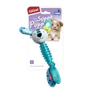 Игрушка для собак GiGwi Suppa Puppa Заяц с пищалкой (75529)