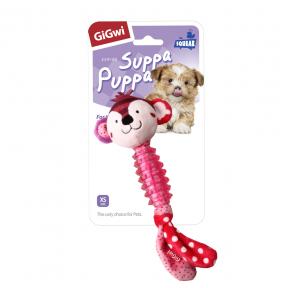 Игрушка для собак GiGwi Suppa Puppa Обезьянка с пищалкой (75530)