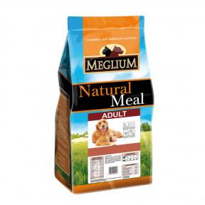 Сухой корм для собак Meglium Natural Meal Adult 15 кг