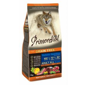 Сухой корм для собак PRIMORDIAL Grain Free Adult All Breed беззерновой, с тунцом, с ягненком 2 кг