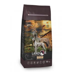 Сухой корм для собак LANDOR Adult Large Breed c ягненком и рисом (для крупных пород) 15 кг