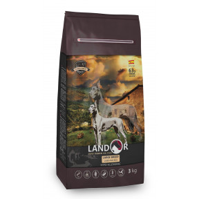 Сухой корм для собак LANDOR Adult Large Breed c ягненком и рисом (для крупных пород) 3 кг