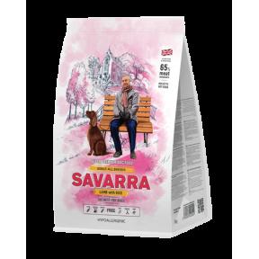 Сухой корм для собак SAVARRA Adult All Breeds с ягненком, с рисом 1 кг