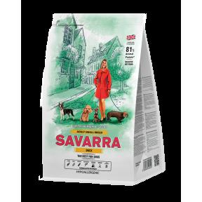 Сухой корм для собак SAVARRA Adult Small Breed с уткой, с рисом (для мелких пород) 3 кг