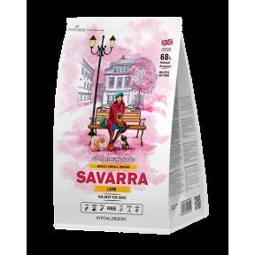 Сухой корм для собак SAVARRA Adult Small Breed гипоаллергенный, с ягненком, с рисом (для мелких пород) 6 кг