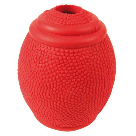 Мячик для собак TRIXIE Регби для лакомств, резина 8 см