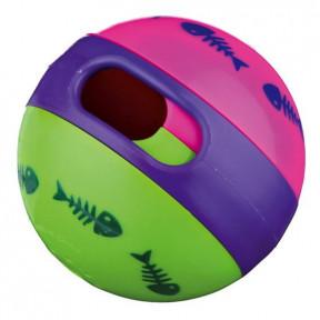 Мяч для кошек TRIXIE Cat Activity для лакомств, пластик 6 см
