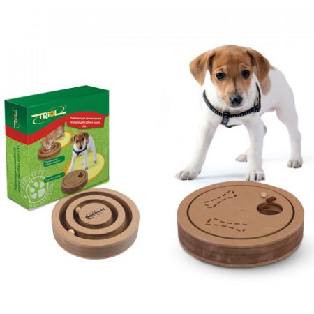 Развивающая игрушка для собак и кошек Triol 2 в 1 20х4 см