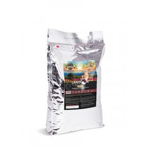 Сухой корм для кошек LANDOR Grain Free Hairball & Weight Control беззерновой, для вывода шерсти и контроля веса, с ягненком и бататом 10 кг