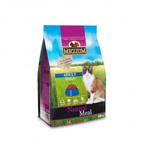 Сухой корм для кошек Meglium Natural Meal c говядиной 400 г