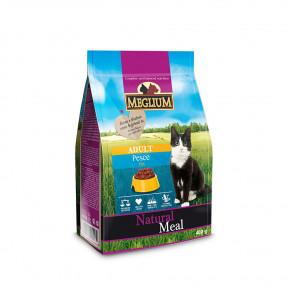 Сухой корм для кошек Meglium Natural Meal c рыбой 400 г