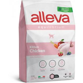 Сухой корм для котят Alleva Equilibrium Kitten с курицей 400 г