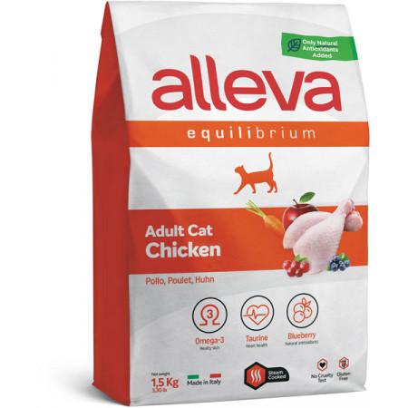 Сухой корм для кошек Alleva Equilibrium Adult с курицей 1.5 кг