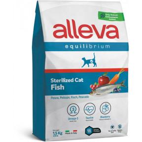 Сухой корм для стерилизованных кошек Alleva Equilibrium Sterilized с рыбой 1.5 кг