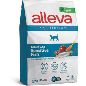 Сухой корм для кошек Alleva Equilibrium Adult Sensitive с рыбой 400 г