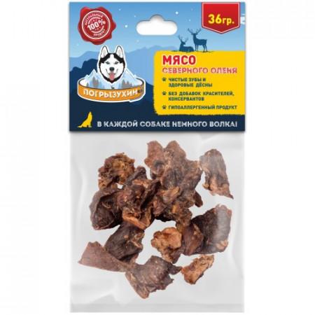 Лакомство для собак Погрызухин Мясо северного оленя 36 г