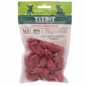 Лакомство для собак TitBit Золотая коллекция Колбаса Московская 80 г