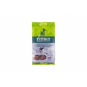 Лакомство для собак TitBit Хрустящие подушечки с начинкой со вкусом говядины и сыра 95 г