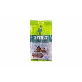 Лакомство для собак TitBit Хрустящие подушечки с начинкой со вкусом ягненка и сыра 95 г