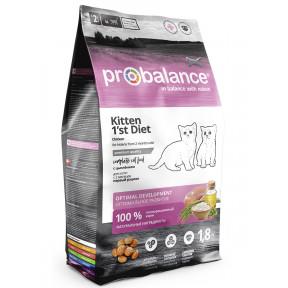 Сухой корм для котят ProBalance Kitten 1st Diet с цыпленком 1.8 кг