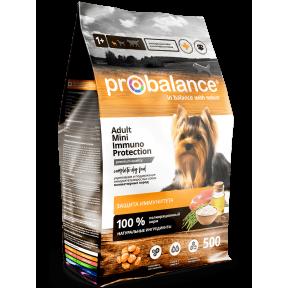 Сухой корм для собак ProBalance Adult Mini Immuno Protection с мясом птицы (для мелких пород) 500 г