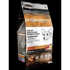 Сухой корм для собак ProBalance Adult Immuno Protection с говядиной 15 кг