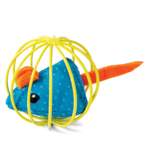 Игрушка для кошек Triol Мышка в шаре 6.3 см