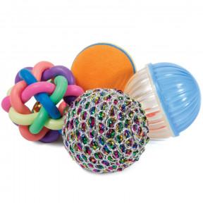 Набор игрушек для кошек Triol (4 мяча)