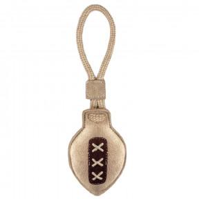 Игрушка для собак Triol ЭКО Мяч для рэгби с петлей 37х10 см