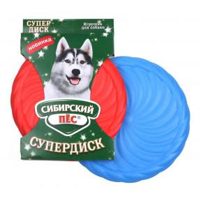 Игрушка для собак Сибирский пес СуперДиск 22 см