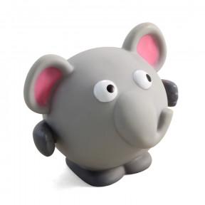 Игрушка для собак Triol Слон, винил, с пищалкой 8.5 см