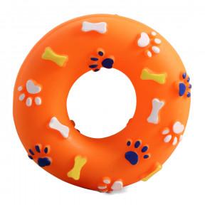 Кольцо для собак Triol Кольцо, винил, с пищалкой 13 см