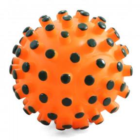 Игрушка для собак Triol Мяч-мина, винил, с пищалкой 12 см