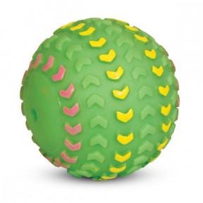 Игрушка для собак Triol Мяч-шина, винил, с пищалкой 11.5 см