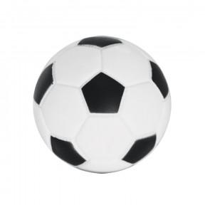 Мячик для собак Triol футбольный, с пищалкой 10 см