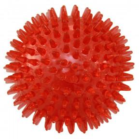 Мячик для собак Triol термопластичная резина, с пищалкой 7.5 см