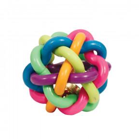 Мячик для собак Triol Мяч-лабиринт с колокольчиком 4.5 см