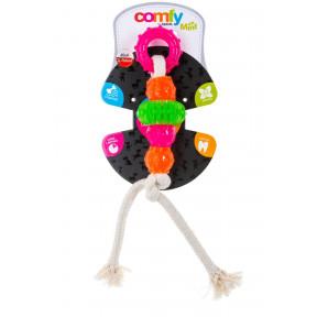 Игрушка для собак COMFY Mint Dental Toother канат с 5 элементами, ароматом мяты 23 см