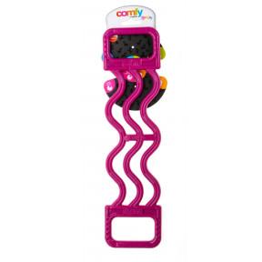 Игрушка для собак COMFY Mint Expander эспандер розовый, с ароматом мяты 37х9х1 см