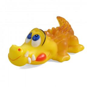 Игрушка для собак Triol Крокодил, винил, с пищалкой 14 см