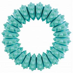 Кольцо для собак TRIXIE DentaFun с запахом мяты, резина 12 см