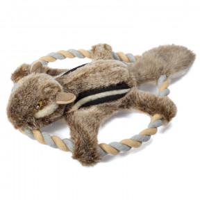 Фрисби для собак Triol Белка-летяга, с пищалкой 30 см