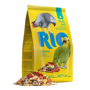 RIO корм Daily Feed для крупных попугаев 1 кг