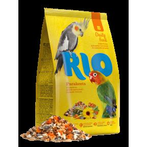 RIO корм Daily Feed для средних попугаев 1 кг