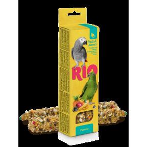 Лакомство RIO палочки для попугаев с фруктами и ягодами 2x75 г