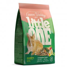 Корм для кроликов Little One Green Valley Rabbits из разнотравья 750 г